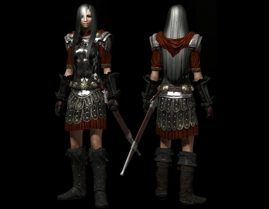 Женская секс имперского легиона броня